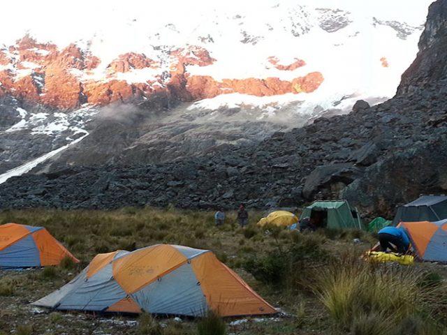Cedros trekking + climbing Alpamayo – 9 Days